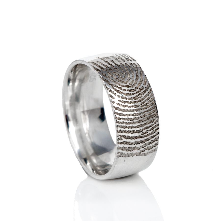 0115-00 Vingerafdruk ring