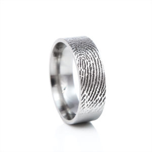 0120-00 Vingerafdruk ring