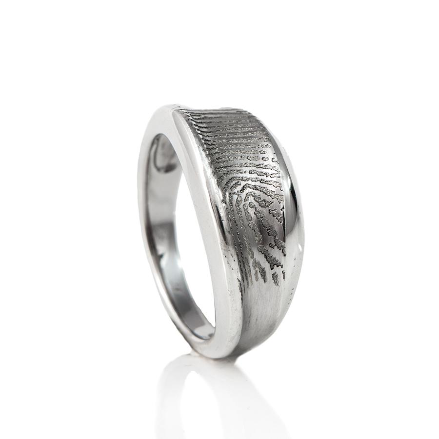 0138-00 Design vingerafdruk ring