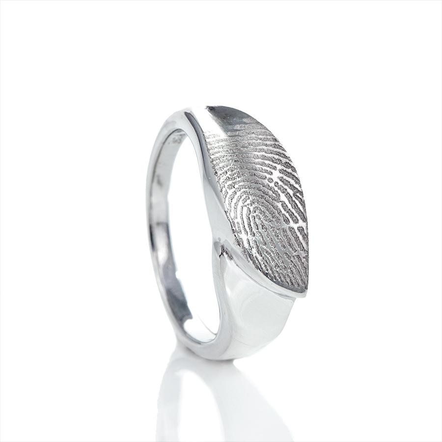 0139-00 Design vingerafdruk ring
