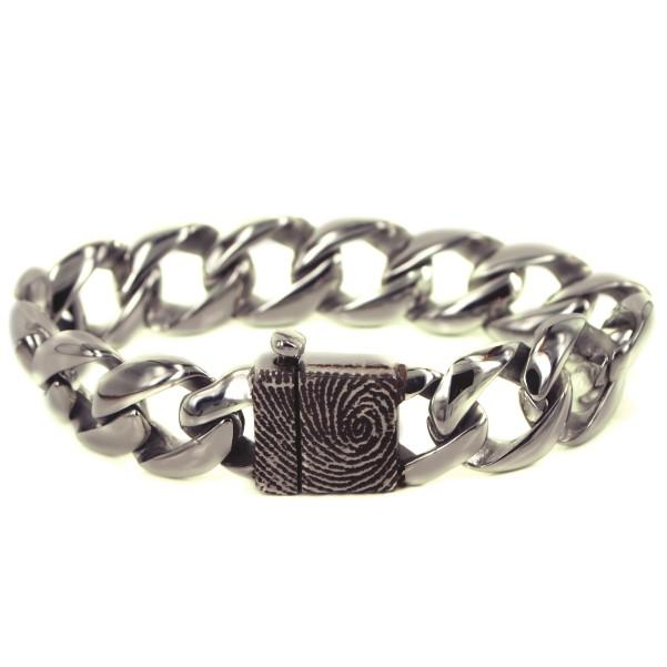 0307-00 Armband met vergrootte vingerafdruk