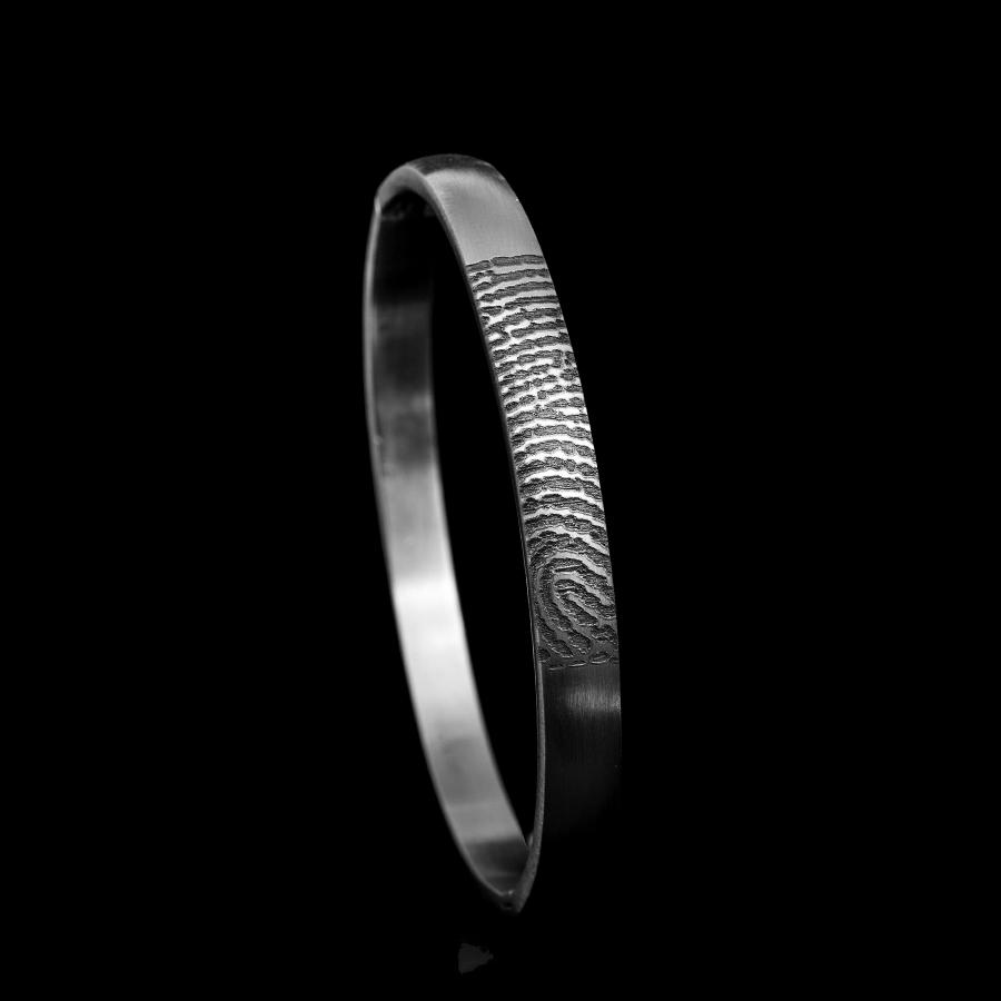 0309-00 Armband met vingerafdruk