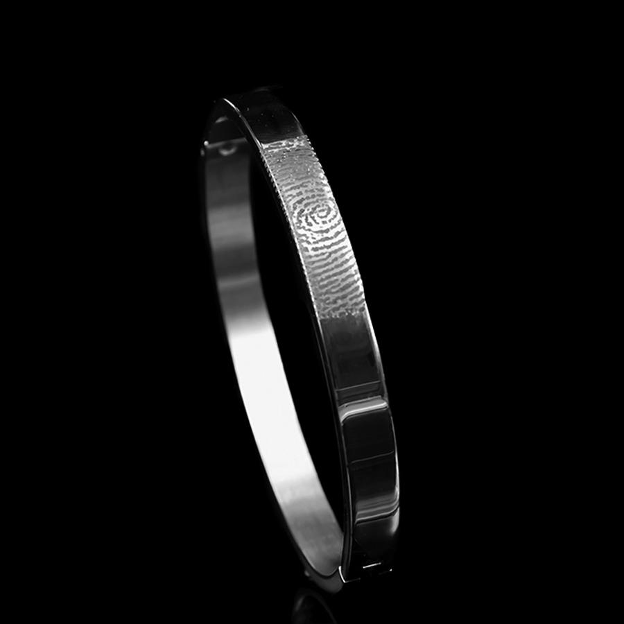 0310-00 Armband met vingerafdruk