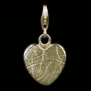 0503-00 Hartvormige vingerafdruk bead