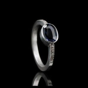 1116-06 Ring met 7 stenen