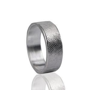 0101-00 Vingerafdruk ring