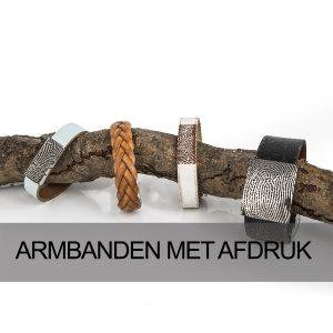 Armbanden met afdruk