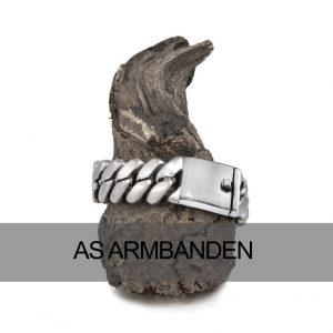Armbanden met as