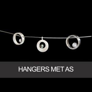Hangers met as